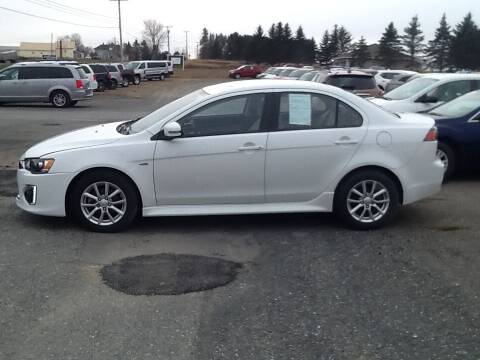 2016 Mitsubishi Lancer for sale at Garys Sales & SVC in Caribou ME