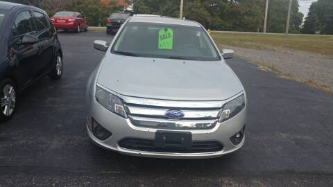 2011 Ford Fusion for sale at Pool Auto Sales Inc in Spencerport NY