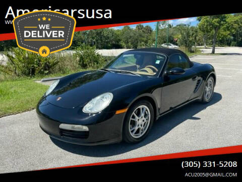 2005 Porsche Boxster for sale at Americarsusa in Hollywood FL