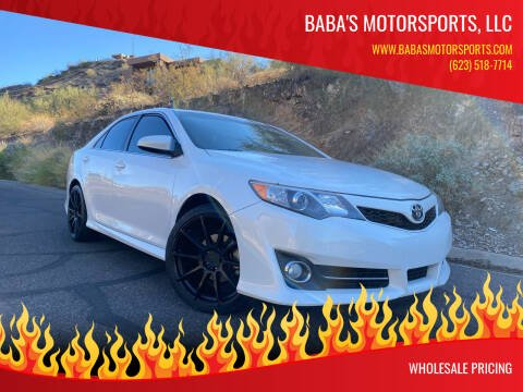 2014 Toyota Camry for sale at Baba's Motorsports, LLC in Phoenix AZ