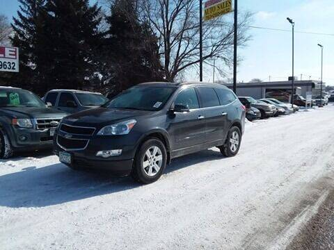 2012 Chevrolet Traverse for sale at Affordable 4 All Auto Sales in Elk River MN