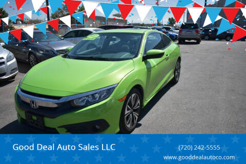 2017 Honda Civic for sale at Good Deal Auto Sales LLC in Denver CO