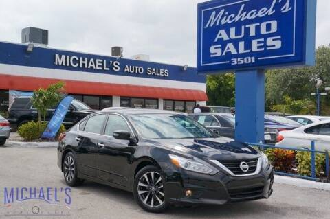 2016 Nissan Altima for sale at Michael's Auto Sales Corp in Hollywood FL