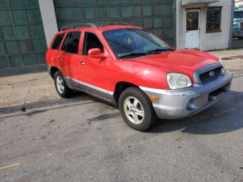 2003 Hyundai Santa Fe for sale at O A Auto Sale in Paterson NJ