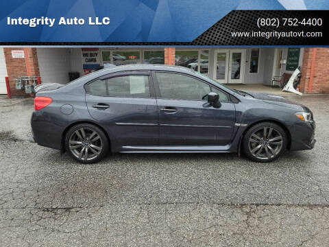 2017 Subaru WRX for sale at Integrity Auto LLC - Integrity Auto 2.0 in St. Albans VT