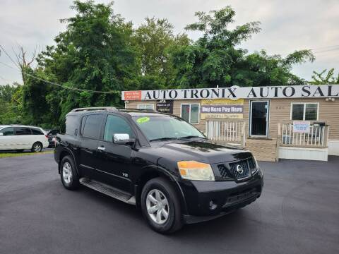 2008 Nissan Armada for sale at Auto Tronix in Lexington KY