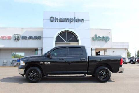 2017 RAM Ram Pickup 1500 for sale at Champion Chevrolet in Athens AL
