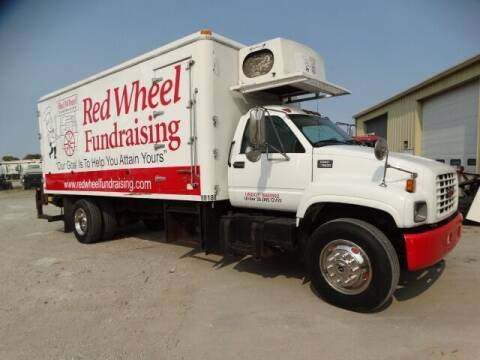 1999 GMC C-7500 raised roof for sale at Michael's Truck Sales Inc. in Lincoln NE