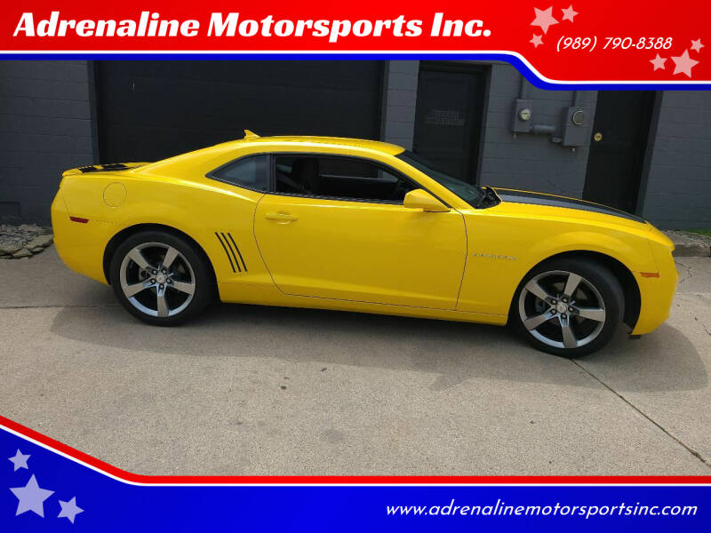 2012 Chevrolet Camaro for sale at Adrenaline Motorsports Inc. in Saginaw MI