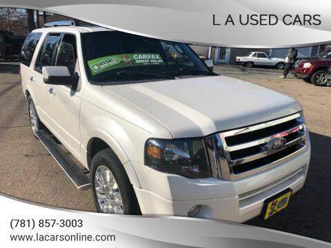 2011 Ford Expedition for sale at L A Used Cars in Abington MA