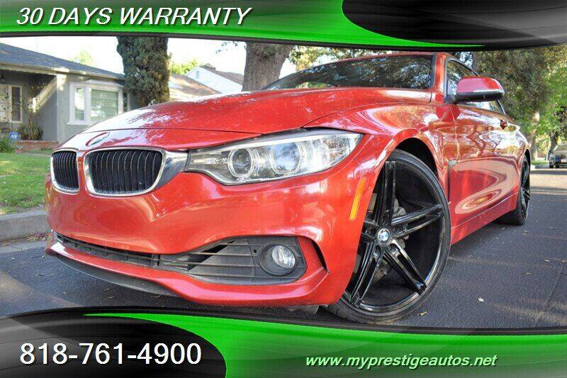 2014 BMW 4 Series for sale at Prestige Auto Sports Inc in North Hollywood CA