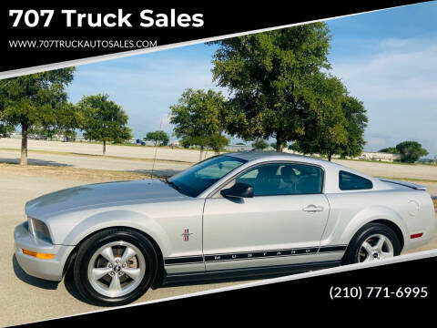 2007 Ford Mustang for sale at 707 Truck Sales in San Antonio TX