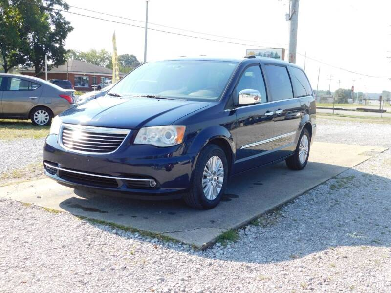 2012 Chrysler Town and Country for sale at Advance Auto Sales in Florence AL