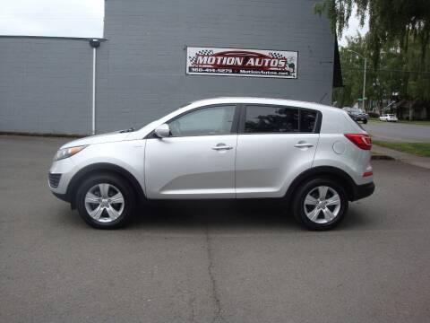 2012 Kia Sportage for sale at Motion Autos in Longview WA