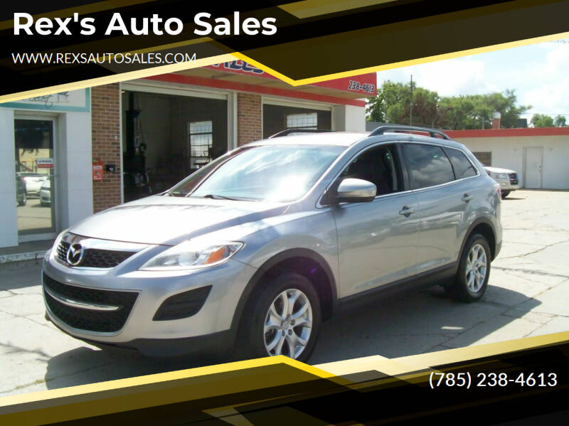 2011 Mazda CX-9 for sale at Rex's Auto Sales in Junction City KS
