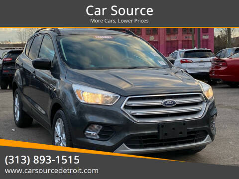 2018 Ford Escape for sale at Car Source in Detroit MI