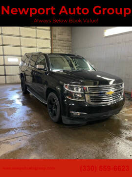 2015 Chevrolet Suburban for sale at Newport Auto Group in Austintown OH