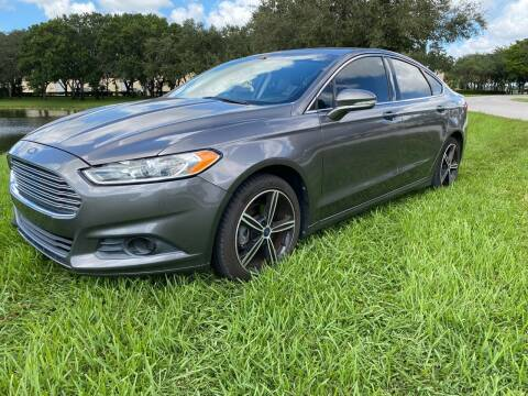 2013 Ford Fusion for sale at Ultimate Dream Cars in Wellington FL