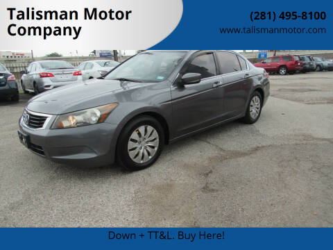 2010 Honda Accord for sale at Don Jacobson Automobiles in Houston TX