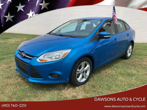 2013 Ford Focus for sale at Dawsons Auto & Cycle in Glen Burnie MD