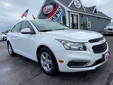2015 Chevrolet Cruze for sale at Cape Cod Carz in Hyannis MA