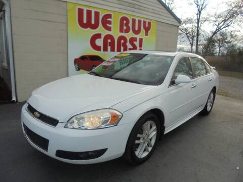 2013 Chevrolet Impala for sale at Right Price Auto Sales in Murfreesboro TN
