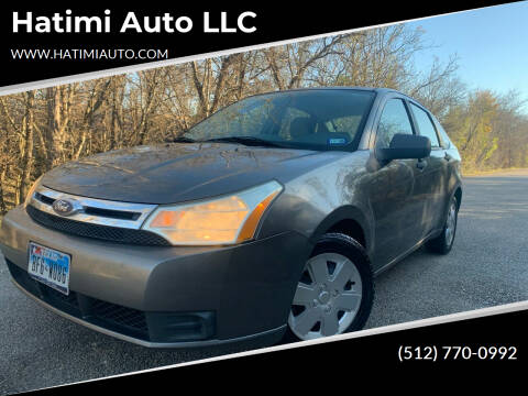 2010 Ford Focus for sale at Hatimi Auto LLC in Austin TX