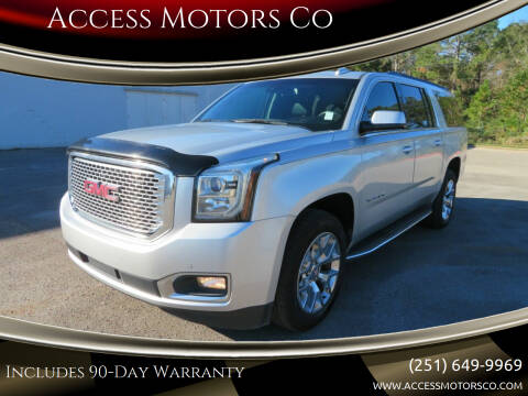 2016 GMC Yukon XL for sale at Access Motors Co in Mobile AL