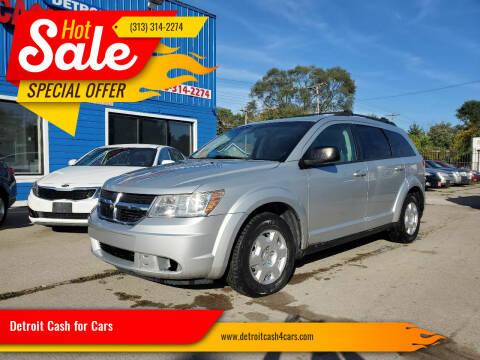 2009 Dodge Journey for sale at Detroit Cash for Cars in Warren MI