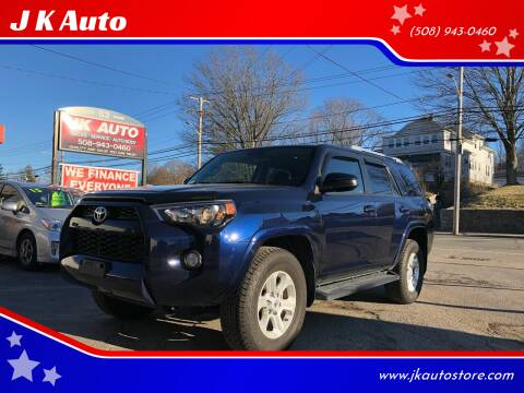 2016 Toyota 4Runner for sale at Webster Auto Sales in Webster MA