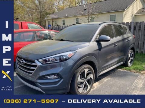 2018 Hyundai Tucson for sale at Impex Auto Sales in Greensboro NC