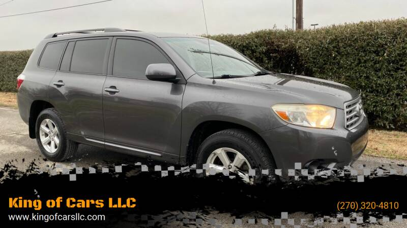2008 Toyota Highlander for sale at King of Cars LLC in Bowling Green KY