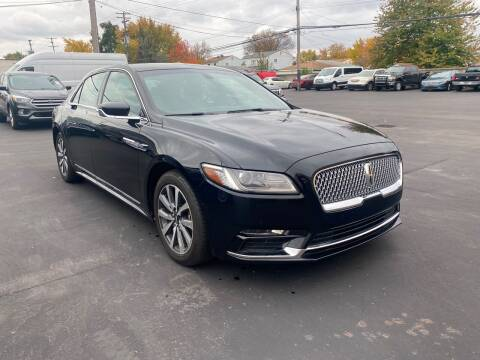 2017 Lincoln Continental for sale at My Town Auto Sales in Madison Heights MI