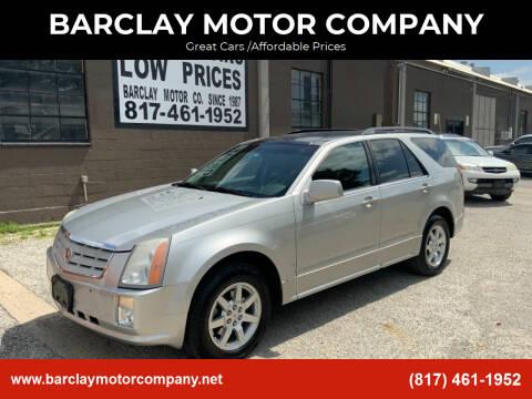 2008 Cadillac SRX for sale at BARCLAY MOTOR COMPANY in Arlington TX