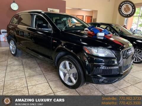 2015 Audi Q7 for sale at Amazing Luxury Cars in Snellville GA