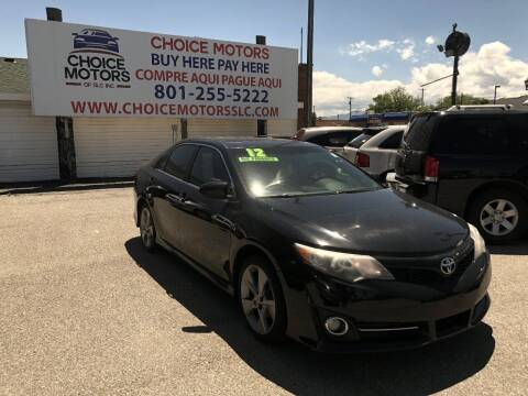 2012 Toyota Camry for sale at Choice Motors of Salt Lake City in West Valley  City UT