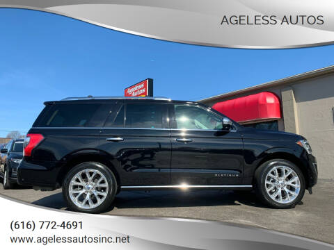 2019 Ford Expedition for sale at Ageless Autos in Zeeland MI