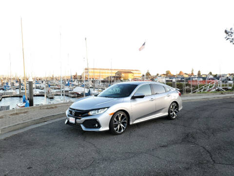 2018 Honda Civic for sale at Imports Auto Sales & Service in Alameda CA