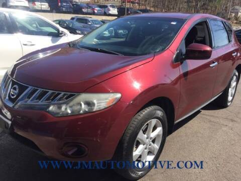 2010 Nissan Murano for sale at J & M Automotive in Naugatuck CT