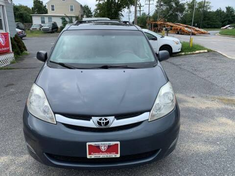 2008 Toyota Sienna for sale at Fuentes Brothers Auto Sales in Jessup MD