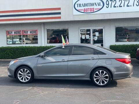2013 Hyundai Sonata for sale at Traditional Autos in Dallas TX