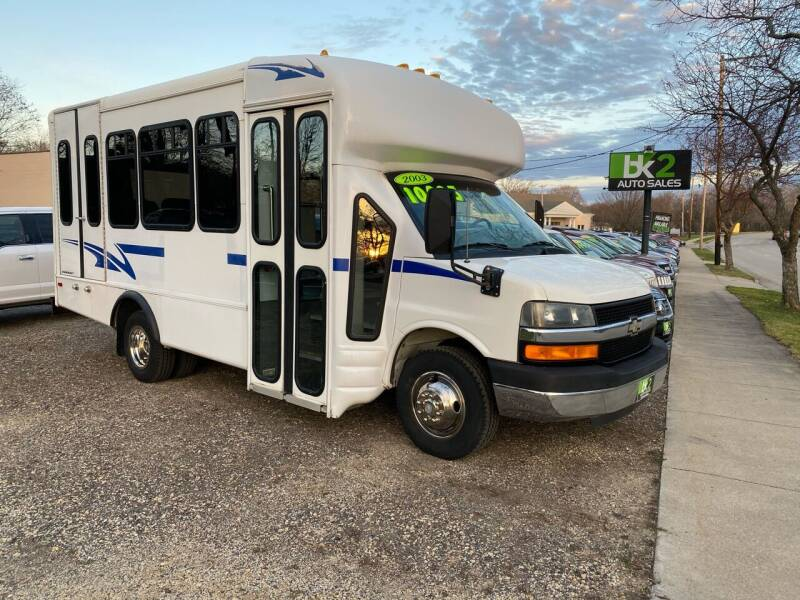 2003 Chevrolet Express Cutaway for sale at BK2 Auto Sales in Beloit WI