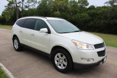 2012 Chevrolet Traverse for sale at Clear Lake Auto World in League City TX