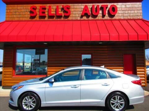 2015 Hyundai Sonata for sale at Sells Auto INC in Saint Cloud MN