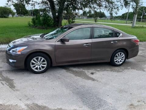 2014 Nissan Altima for sale at VC Auto Sales in Miami FL