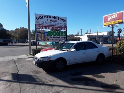 2001 Toyota Camry for sale at Goleta Motors in Goleta CA