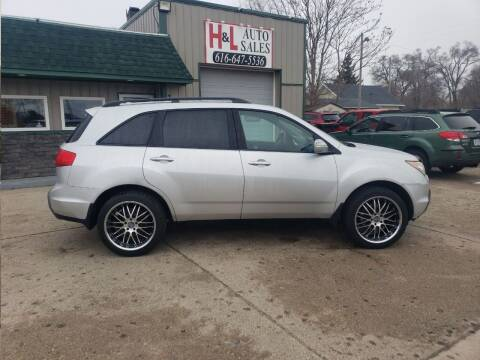 2007 Acura MDX for sale at H & L AUTO SALES LLC in Wyoming MI