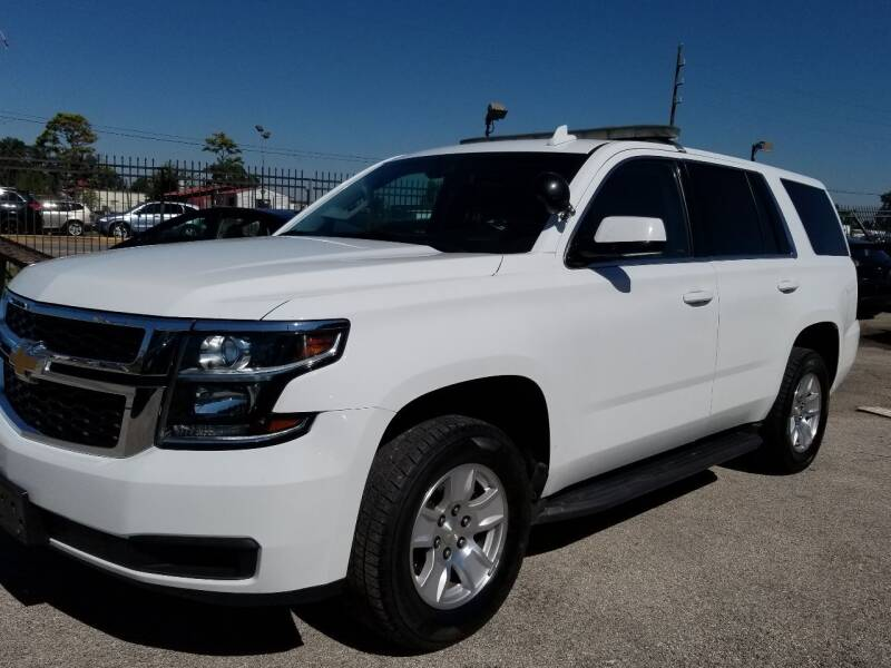 2016 Chevrolet Tahoe for sale at ACE AUTOMOTIVE in Houston TX