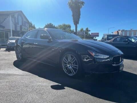 2015 Maserati Ghibli for sale at Carmania of Stevens Creek in San Jose CA