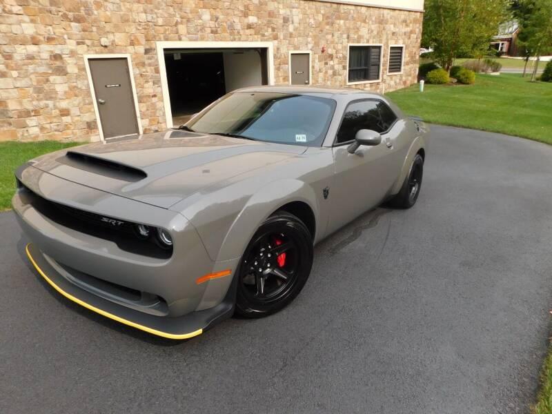 2018 Dodge Challenger for sale at Shedlock Motor Cars LLC in Warren NJ